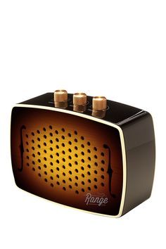 Wireless speakers with a classic look.