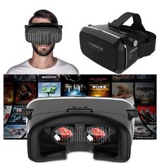 VR SHINECON Virtual Reality Headset 3D Glasses-19.99 and Free Shipping | GearBest.com Mobile