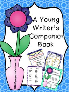 I have designed this writing guide for the young writer as a reference tool in the classroom and/or at home. The writing process is simplified for young learners.Ideas for writingWord book of common wordsPunctuation  rulesParts of speechHomophonesHelpful wordsWriting templatesYou can choose to copy the booklet for your students or laminate the posters to display in the classroom.I have included several colour cover pages so the students can choose which they would like.Copy several of page…