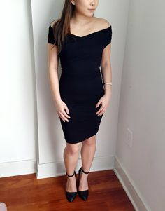 ASOS Wrap dress, only $26! Perfect for date night or a cocktail event.