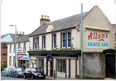 Allan's fish bar paisley - best fish n chips ever