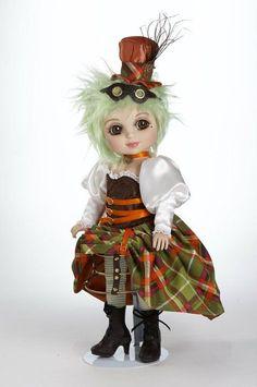 Osmond Adora Belle Sasha Steampunk MOP Top Articulated Vinyl Doll