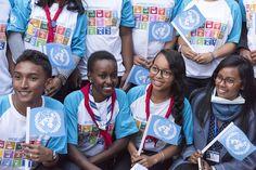 Rétrospective - L'année 2016 vue par les photographes de l'ONU. Objectifs de développement durable, maintien de la paix, élections, aide aux réfugiés, Accord de Paris sur le climat, catastrophes naturelles, sélection du prochain Secrétaire général des Nations Unies… Découvrez leur album photo.