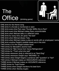 The Office drinking game