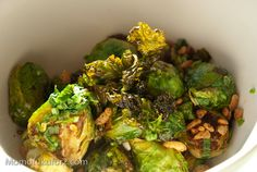 brussels sprouts with fish sauce vinaigrette. must make soon!