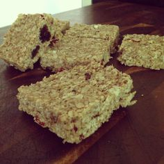 Raw Food Recipe: Raw Flapjacks