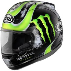 Arai Monster Energy Drinks Helmets - repined by  http://www.motorcyclehouse.com/ #MotorcycleHouse