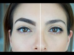 Tutorial de cejas gruesas y definidas - YouTube