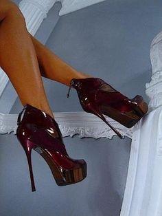 Fashion high #heel shoes by Maria Godinho