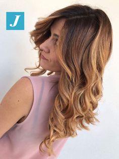 Peachblond _ Degradé Joelle #cdj #degradejoelle #tagliopuntearia #degradé #igers #musthave #hair #hairstyle #haircolour #longhair #ootd #hairfashion #madeinitaly #wellastudionyc