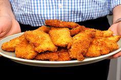 Anne Burrell's chicken milanese via smittenkitchen