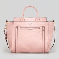 claremont drive marcella tote bag, pink champagne