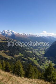 #View From #Grossglockner #High #Alpine #Road Down Into The #Valley @depositphotos #depositphotos #nature #landscape #mountains #snow #peak #top #summit #hiking #climbing #carinthia #travel #summer #season #sightseeing #vacation #holidays #leisure #outdoor #view #wonderful #beautiful #stock #photo #portfolio #download #hires #royaltyfree
