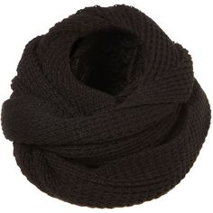 TOPSHOP Textured Grunge Snood (20 CAD) ❤ liked on Polyvore featuring accessories, scarves, supernatural, black, topshop, snood scarves, chunky scarves and wrap shawl