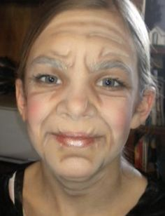 47147065 Old age makeup … Old Age Makeup , Old halloween makeup old lady - Halloween Makeup Old Lady Halloween Costume, Halloween Make Up, Halloween Town, Halloween Face, Old People Costume, Old Lady Makeup, Granny Costume, Halloween Karneval, Old Faces