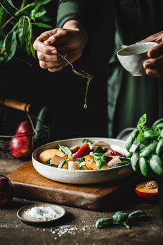 Rustic Food Photography, Food Photography Styling, Food Styling, Easy Salad Recipes, Veggie Recipes, Healthy Recipes, Food Inspiration, Carne, Cooking