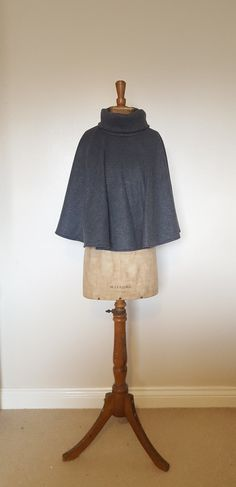 UK Made Cosy Winter, Winter Tops, Capes For Women, Clothes For Women, Roll Neck, Jumpers For Women, Loose Fit, Women's Clothing, Grey