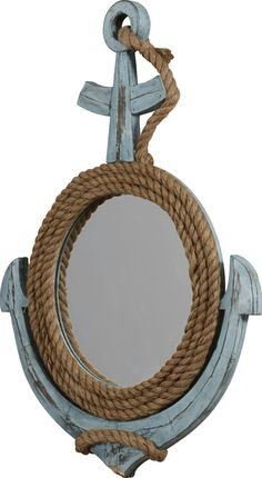 Coastal Anchor Mirror