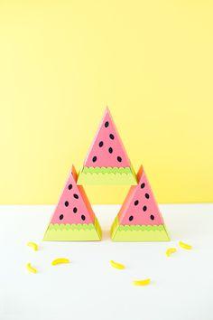 DIY Watermelon Treat Box | like-the-cheese.com