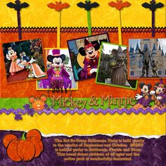 Mickey's Not So Scary Halloween Party (General) - Page 7 - MouseScrappers.com