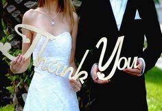 Barn Wedding - Rustic Thank You Sign, Wedding Display www.urbanfarmhousetampa.com