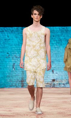 Carin Wester SS 2012 men's collection