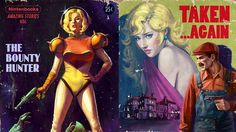 Nintendo games turn pulp fiction in these magnificient fake book covers