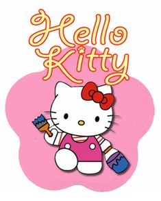 hello kitty craft | Hello Kitty Party Ideas & Free Printables | Living Locurto - Free ...