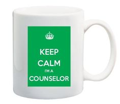 Keep Calm I'm A Counselor Coffee Mug Great Office Novelty School Counseling, Toolbox, Things To Buy, Keep Calm, Coffee Mugs, Therapy, Mom, Amazon, Board