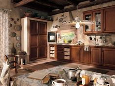 Стиль Винтаж на кухне