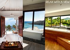 Dream Bathrooms in The Caribbean http://blog.handpickedvillas.net/travel-advice/dream-bathrooms-in-the-caribbean/