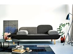 Erik Jorgensen EJ 123 Toward Sofa, The Toward Sofa is a playful and creative design that takes inspiration from contemporary monochrome colour trends and has a strong focus on craftsmanship