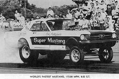 ☮ American Hippie Hot Rod ~ Mustang Gasser