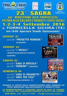 SAGRA DEL MINESTRONE E PECORA ALLA CALLARA  Torricella Sicura http://ift.tt/2bx0lE1