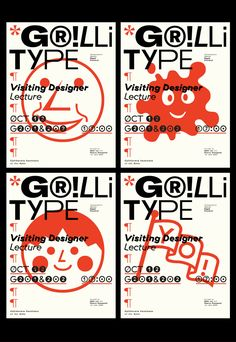 Poster for Visiting Designer Lecture: Grilli Type