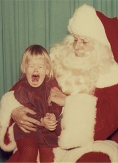 Image result for vintage photos on santa's lap