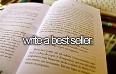 Write a Best Seller.