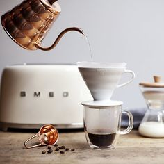 Hario Buono Copper Tea Kettle | Crate and Barrel