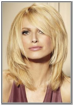 Cute Updos For Medium Hair With Side Bangs And Layers - Hair Style ...