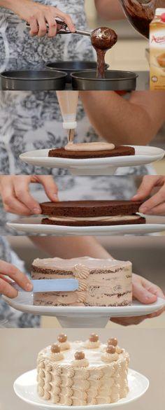 Cupcake Maniacs 15: Tarta de chocolate sin gluten                              …