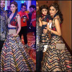 Beauties in MischB Couture Lehenga