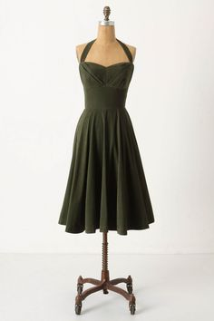 Filed under: things I would kill to wear to @Melinda Indo's autumn wedding. Rodna halter dress by Girls from Savoy.