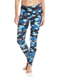 95cf5bf8382dd Danskin women s supplex printed performance body fit ankle legging in a  moisture wicking fabric blend. Features an overall contemporary print