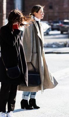 How to Conquer the Cold Using Pieces You Already Own via @WhoWhatWearAU