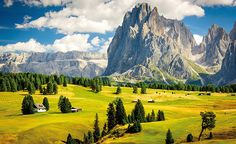 The Dolomites – South Tyrol, Italy Millions of years ago the pale peaks and pinnacles of the Dolomites lay on the seabed; now they are among...