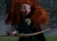 Brave, Pixar's first movie with a female lead character. Can't wait.