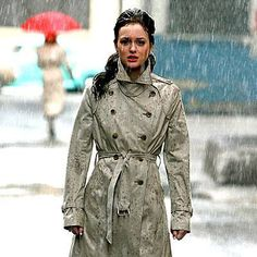 Blair Waldorf | Audrey Trench Coat