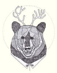 Bear designed by AS3