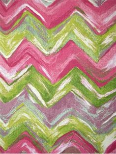 """Vivre Bermuda.  LIORA MANNÉ fabric – 100% cotton multi purpose home décor fabric. Printed artwork created and designed by LIORA MANNÉ. H 27"""", V 27"""". Made in U.S.A. 54"""" wide. Chevron Fabric, Material Girls, Drapery Fabric, Decoration, Slipcovers, Home Deco, Printing On Fabric, Upholstery, Velvet"""