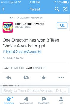 We got 10/10 Awards :D We are officially the BEST FANDOM EVER. The boys better love us for this.